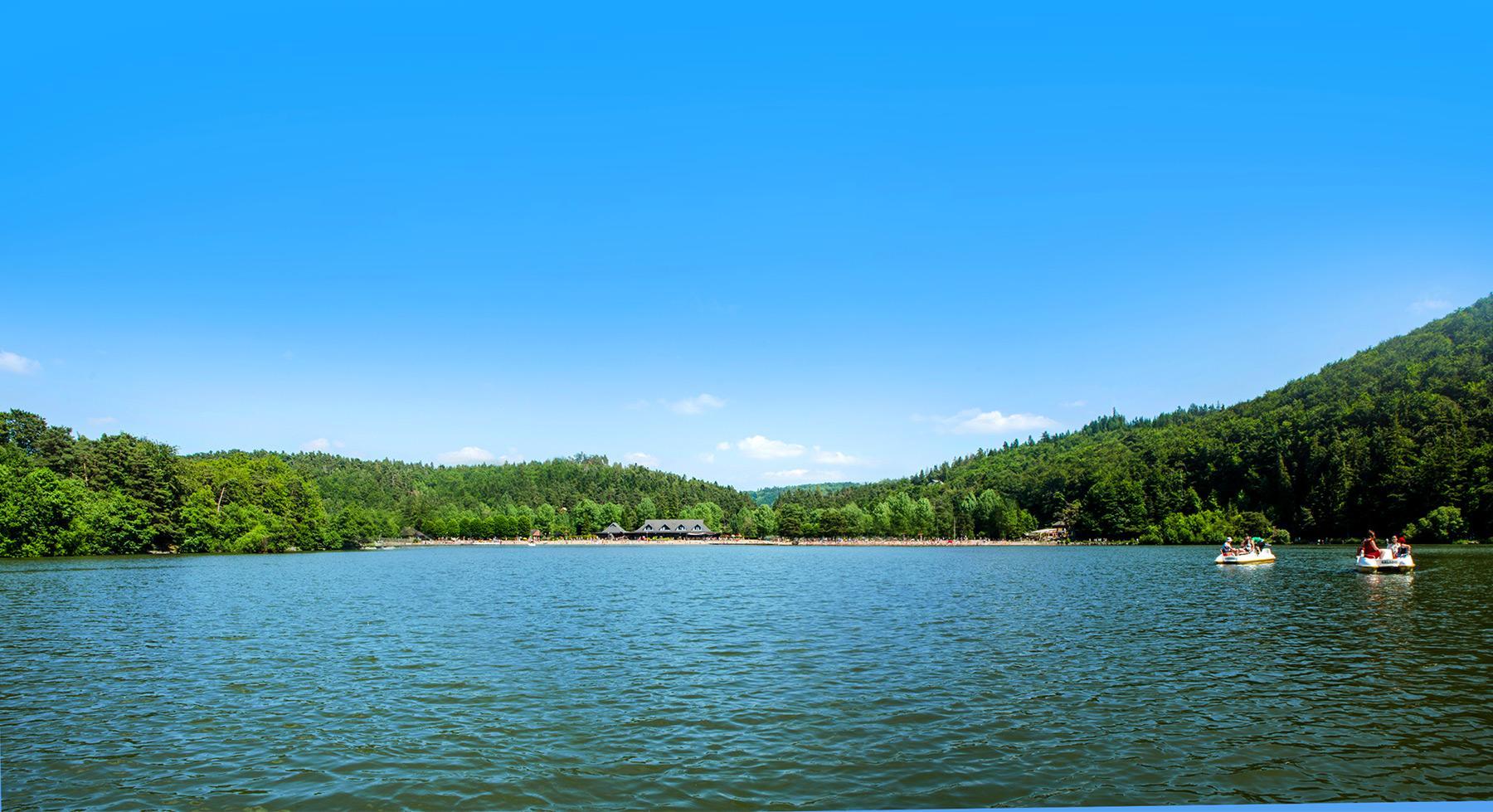 Camping avec piscine location chalet cabane puy de d me for Camping clermont ferrand avec piscine